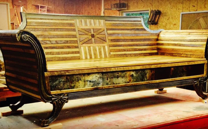 TN Tobacco Stick & TN Persimmon Wood Couch