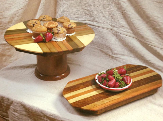 Handcrafted Serving Trays