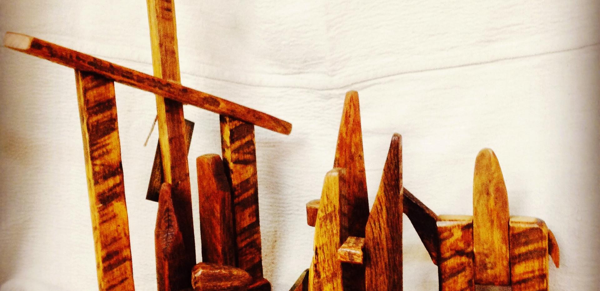 Tobacco Stick Nativity