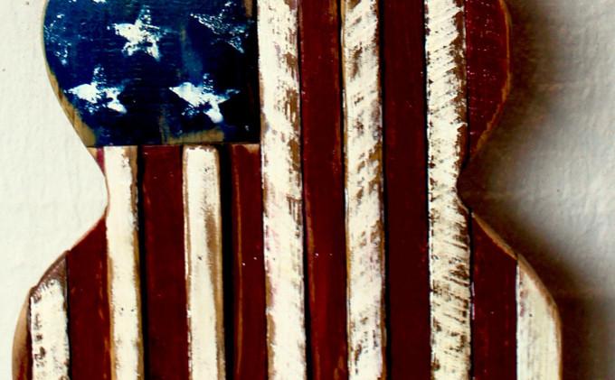 TN Tobacco Stick Flag Wall Art