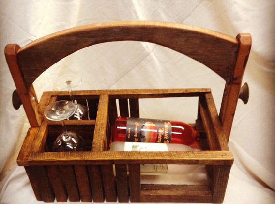 Reclining Wine Caddy