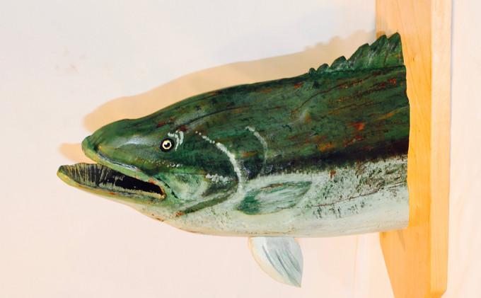Locust Stump Bass Sculpture