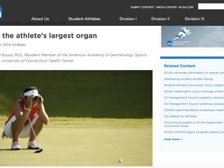 Skin - the athlete's largest organ