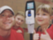 Sunscreen Dispenser by Sunstation USA at Cardinals Baseball Stadium - sun safety