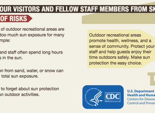 Parks and Recreation - Protect Your Visitors and Staff from Skin Cancer