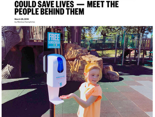 Free Public Sunscreen Dispensers Could Save Lives — Meet the People Behind Them
