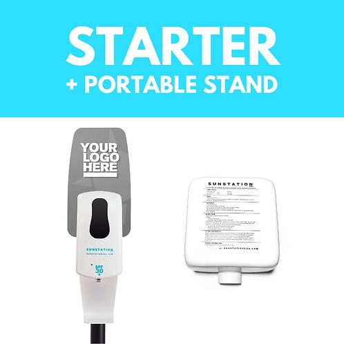 STARTER KIT + PORTABLE STAND