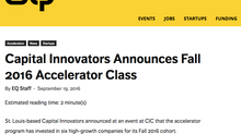 Capital Innovators Announces Fall 2016 Accelerator Class