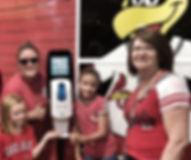 Sunscreen Dispenser by Sunstation USA at Busch Stadium - St. Louis Cardinals Baseball