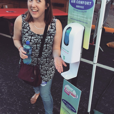 Sunstation USA Sunscreen Dispenser at Keiner Plaza