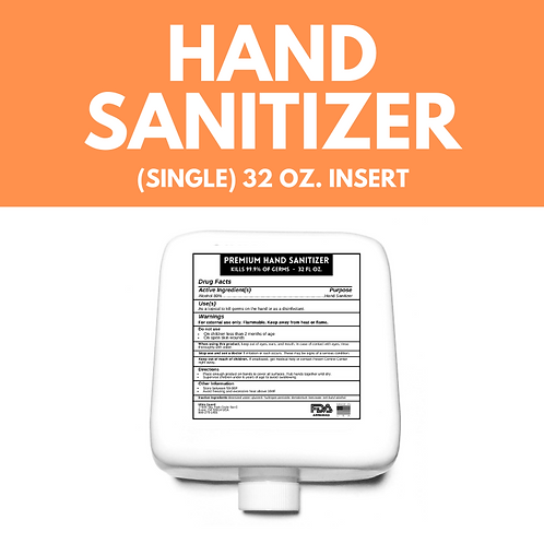 HAND SANITIZER (SINGLE INSERT)