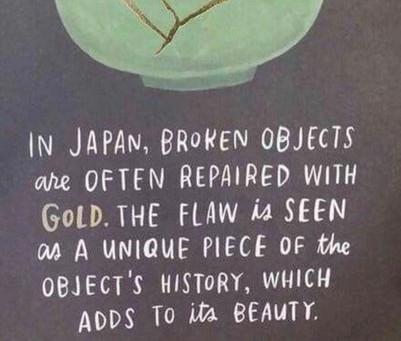 Kintsugi: perfecte imperfectie