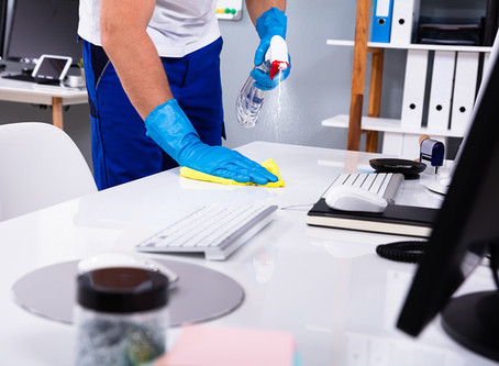 The Importance Of Workplace Cleaning And Disinfecting