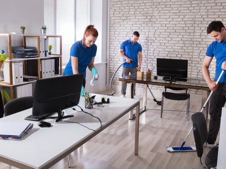 Don't Take Chances With Your Company's Health, Hire A Professional Janitorial Service