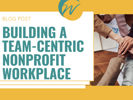 Stop the Purge: Building a Team-Centric Nonprofit Workplace