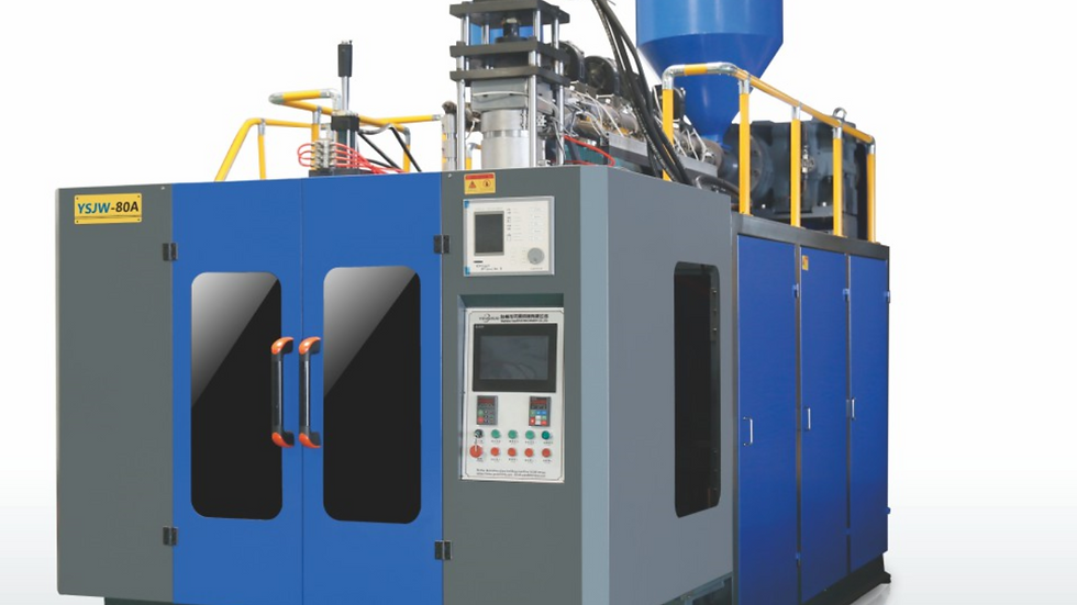80A Model Extrusion blow molding machine