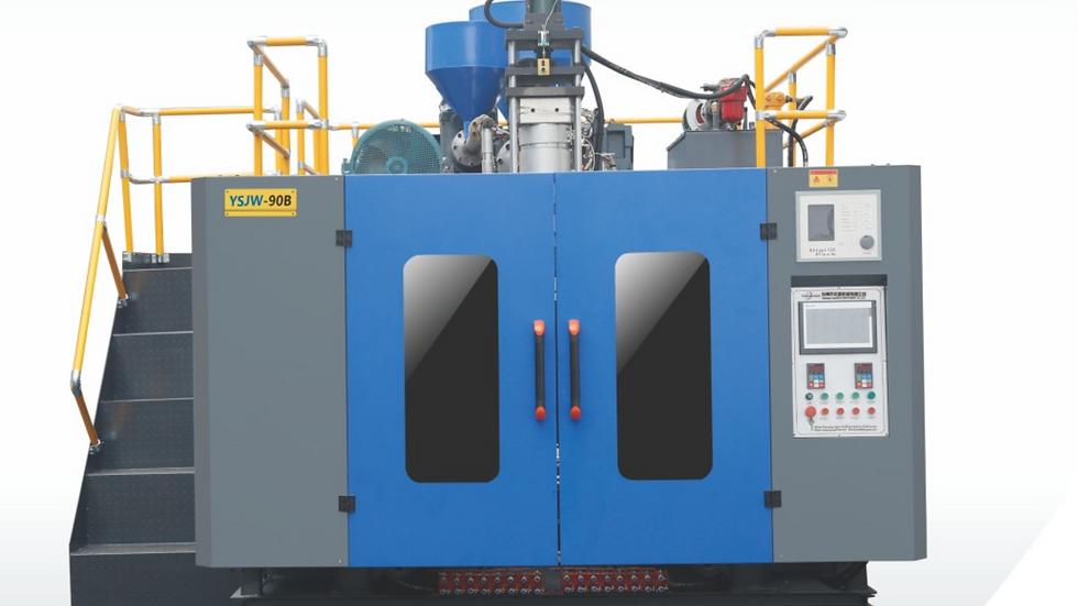 90B Model Extrusion blow molding machine