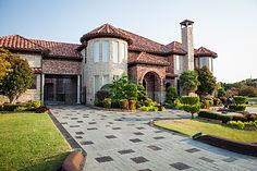 Mediterranean custom home designed by Frantom Designs
