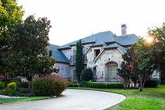 Old World custom home designed by Frantom Designs