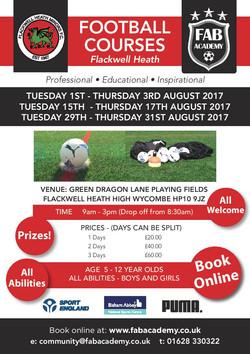 Flackwell Heath Summer 2017 Flyer JPEG