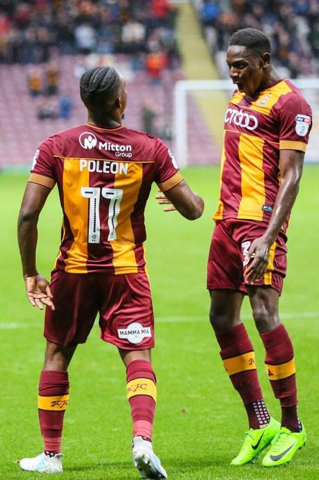 Omari Patrick hoping to be quick out of the blocks at Bradford City FC.