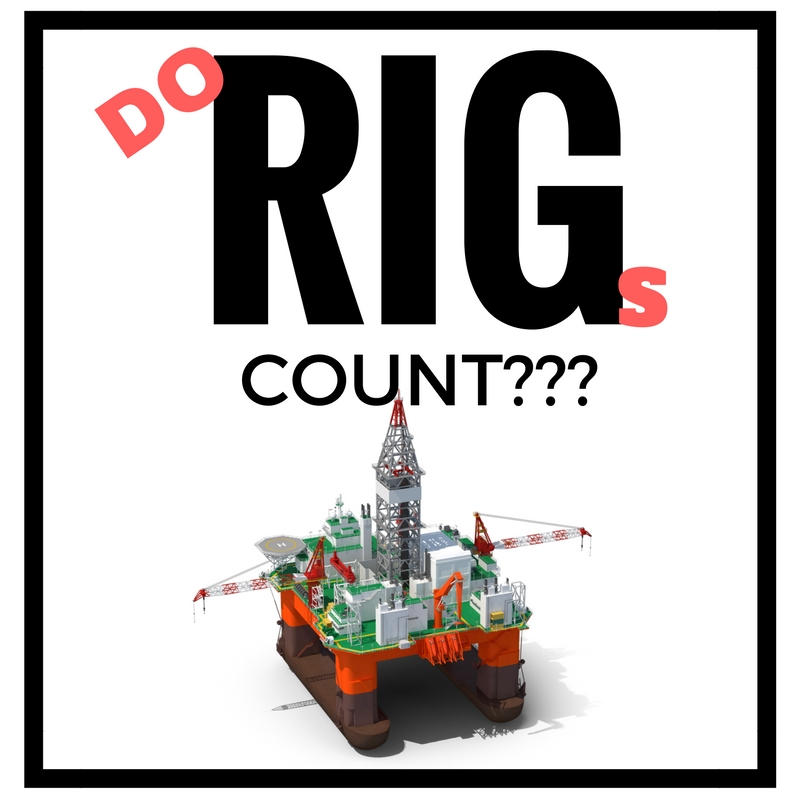 Rigs counts tick down