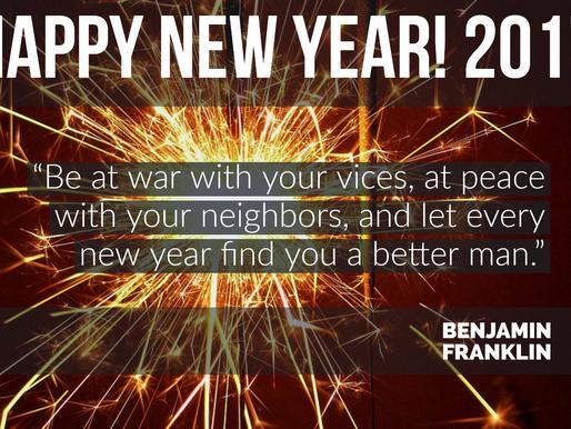 New Years Words of Wisdom