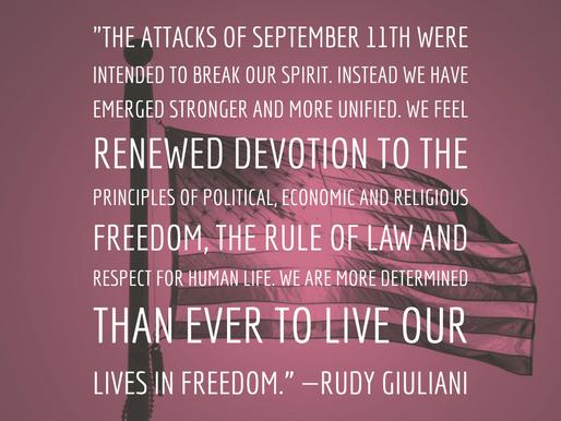9/11 Words of Wisdom