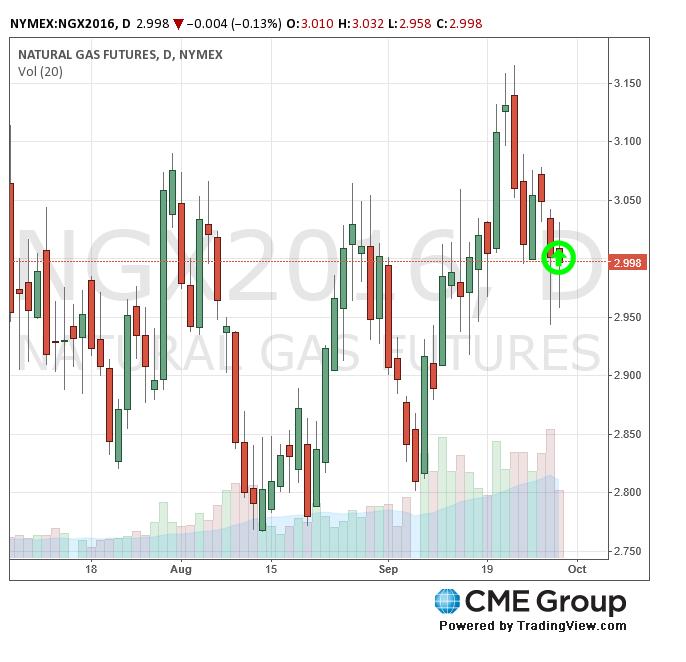 CME Natural Gas Futures 9-8-16 (CMEGroup.com)