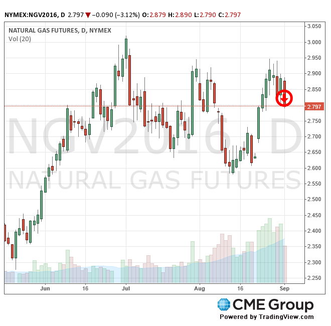 CME Natural Gas Futures 9-1-16 (CMEGroup.com)