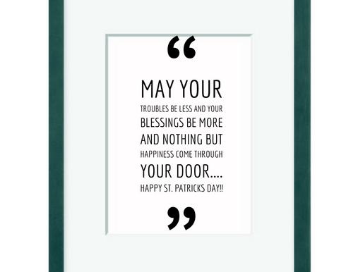 St Patrick's Words of Wisdom