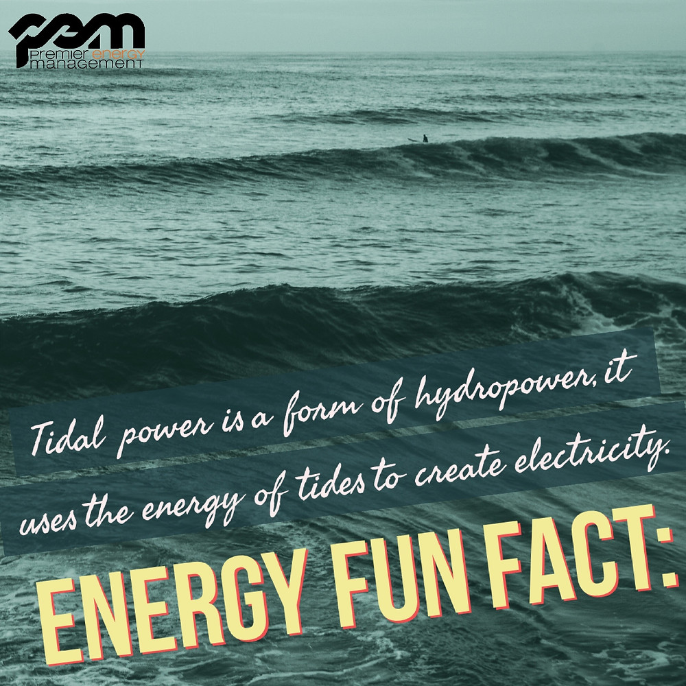 Tidal Power  Energy fun fact