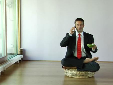 El Equilibrio entre lo espiritual y lo material…