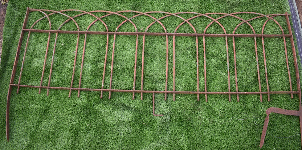Victorian Wrought Iron Fencing