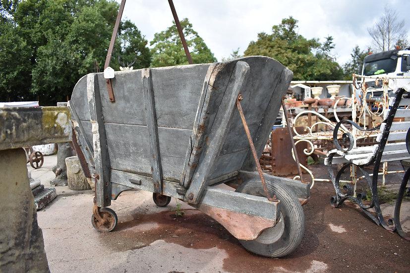 Victorian miners wheelbarrow