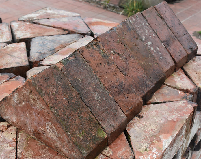 Victorian Terracotta Coping Stones
