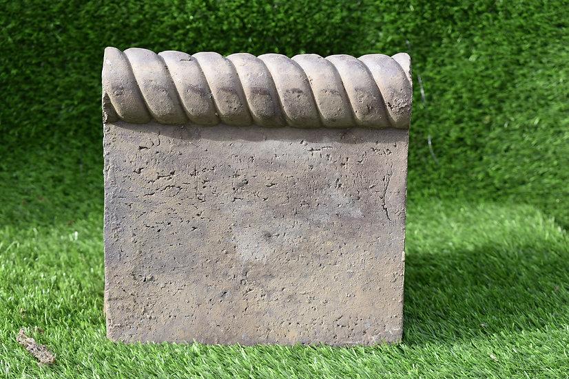 Victorian blue brick edging stone