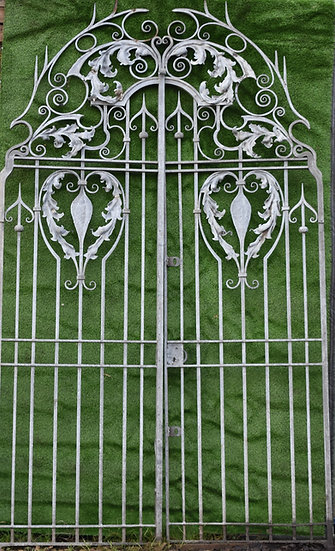 A pair of Victorian Wrought Gates