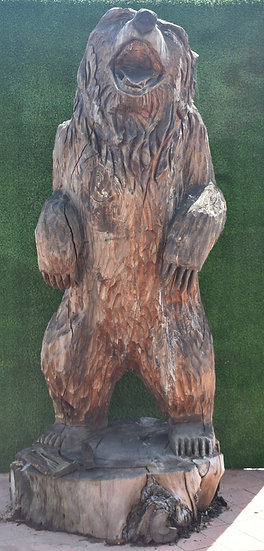 Craved Redwood Bear