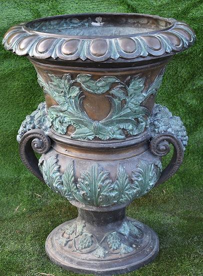 Ornate Bronze Urn