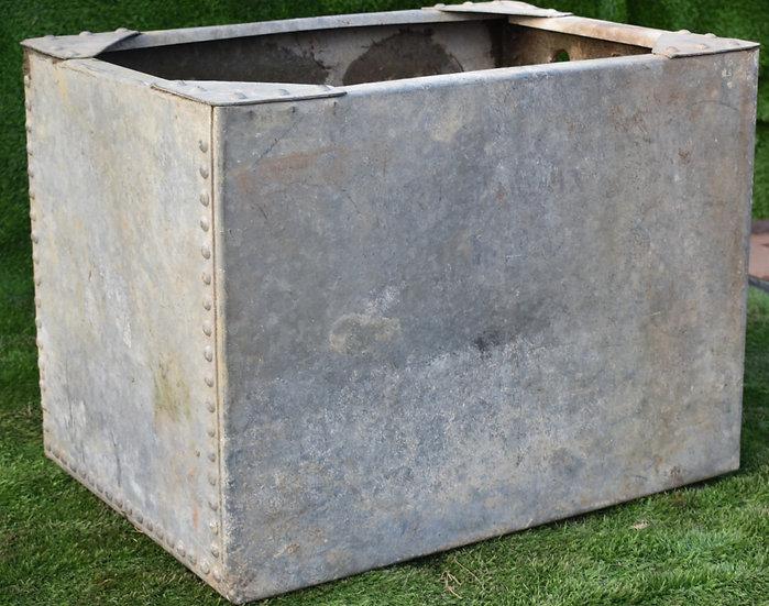 Vintage Galvanised Tank