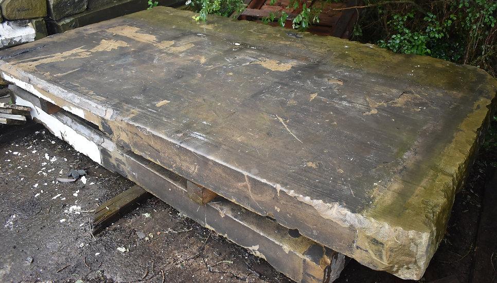 Large Reclaimed York Stone Slab