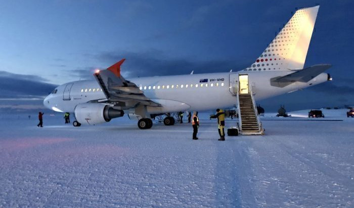 Australia Lands Airbus A319 In Antarctica For Rescue Mission