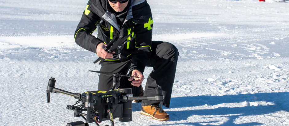 French Ski Area Using Drones to Save Lives