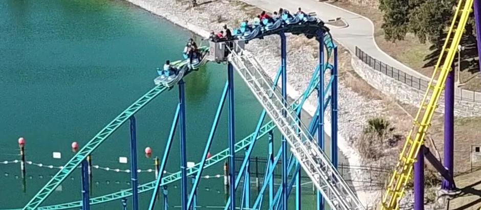 Firefighters rescue people stuck on SeaWorld rollercoaster