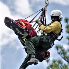 Search and Rescue uses Chopper and Screamer Suit to Save Injured Hunter