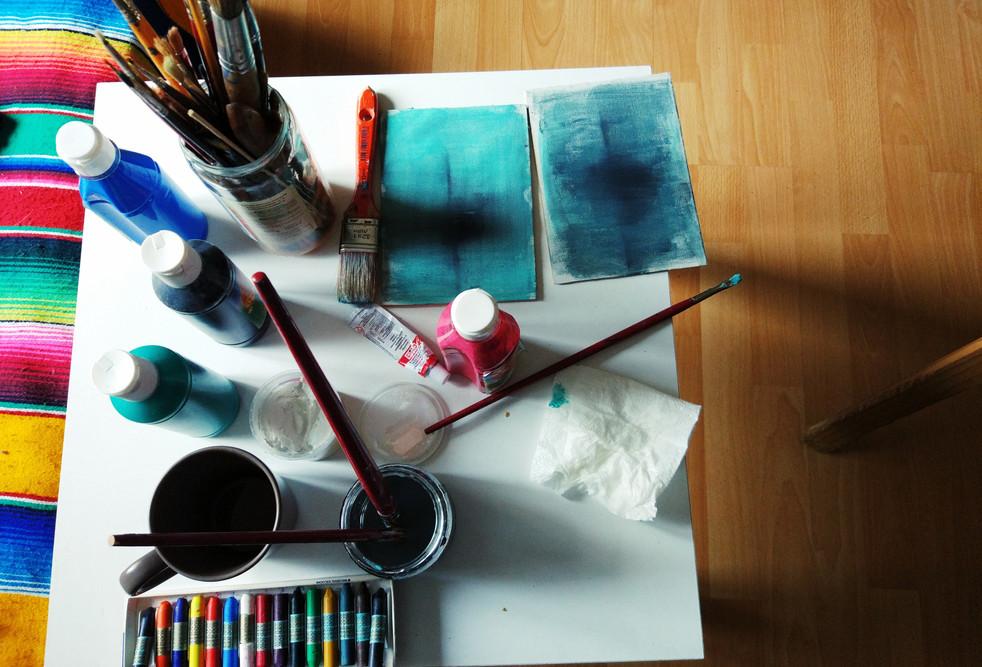 Materiales artísticos. Creación propia