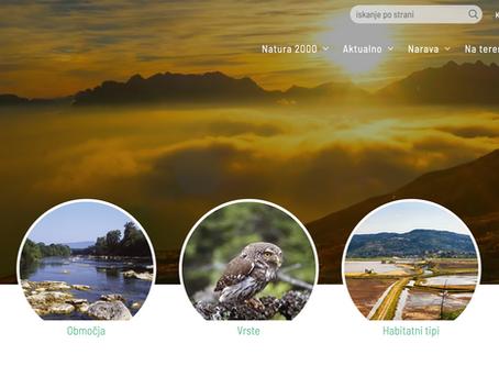 Prenovljena Natura2000.si po 13 letih
