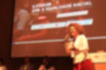 Jane Muniz no evento II Fórum - Sim à igualdade racial do ID_BR