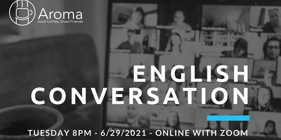 Online English Conversation - Music